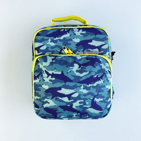 Bentology Insulated Lunch Bag - Shark Camo