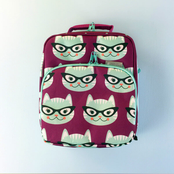 Bentology Insulated Lunch Bag - Kitty