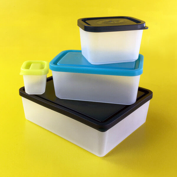 Bentology Lunch Box Set of 4 lunch Containers - Beach