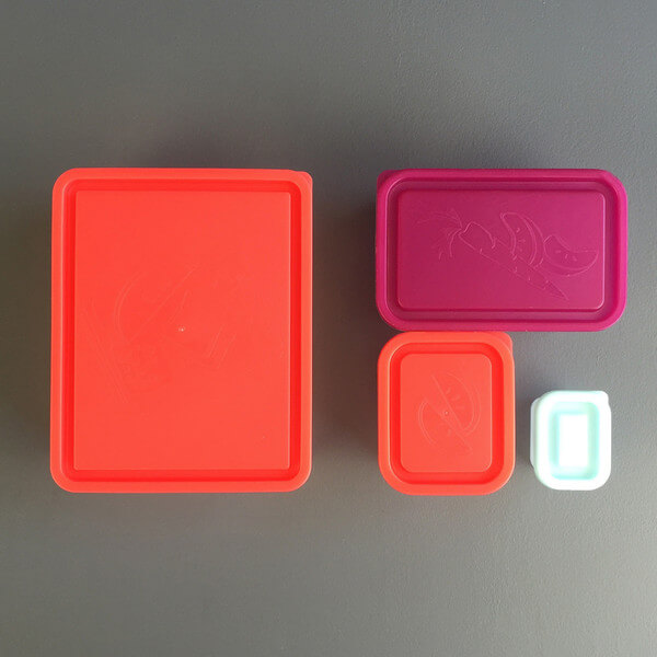 Bentology Box Set of 4 Containers - Sorbet