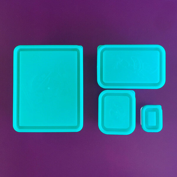 Bentology Box Set of 4 Containers - Turquoise