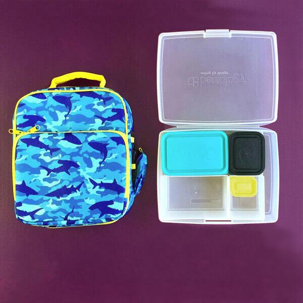 Bentology Bento Box Kit - Lunch Bag & Bento Box - Camo