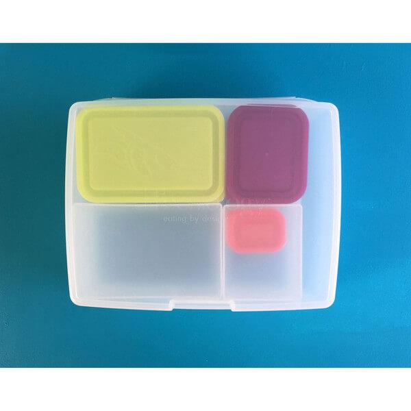 Bentology Bento Kit - Lunch Bag & Bento - Penguin