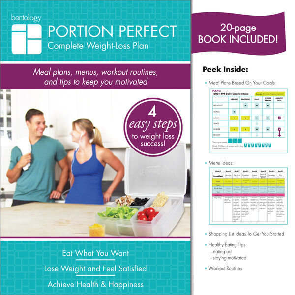 Bentology Portion Perfect Weight Loss Kit – Clear/Night