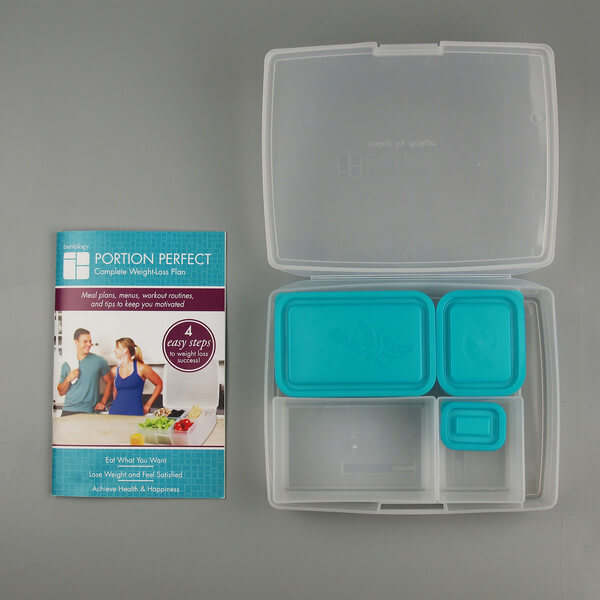 Bentology Portion Perfect Weight Loss Kit u2013 Clear/Turquoise & Weight-Loss Kits Archives - Bentology Aboutintivar.Com