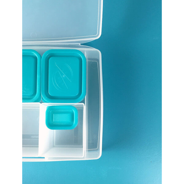 Bentology Portion Perfect Weight Loss Kit – Clear/Turquoise
