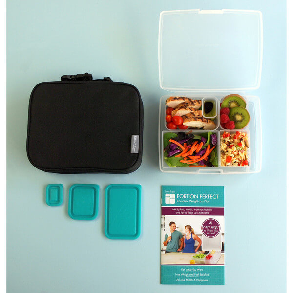 Bentology Portion Perfect Complete KIT – Black Sleeve