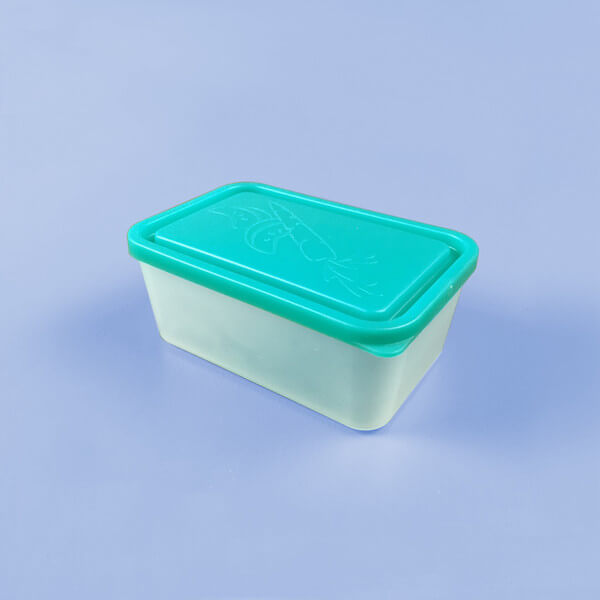 Large Lidded Container - Turquoise