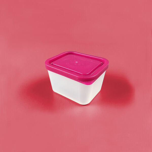 Bentology Medium Lidded Container - Raspberry