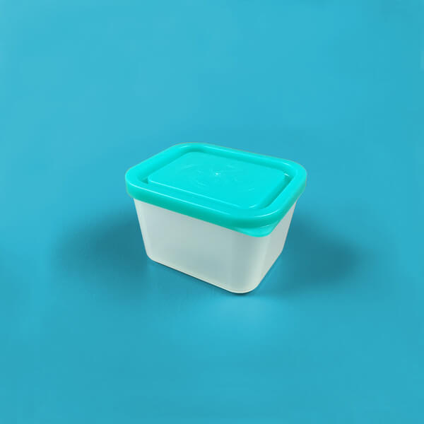 Bentology Medium Lidded Container - Turquoise