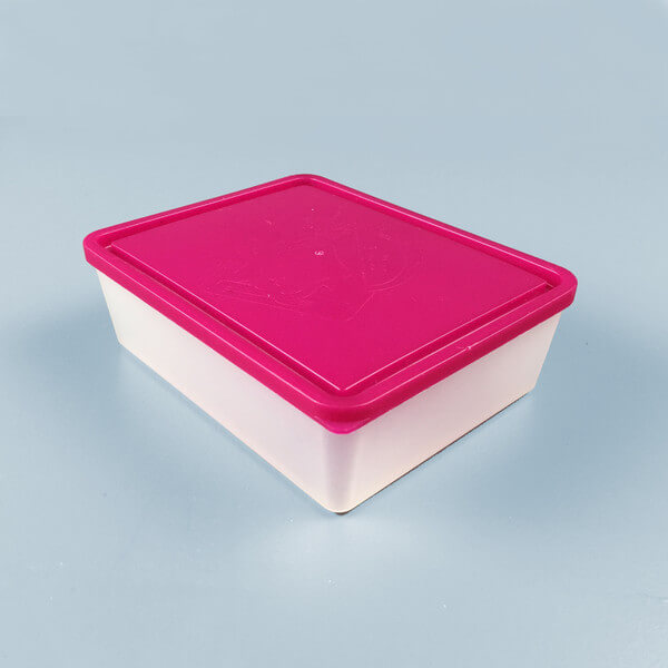 Bentology Extra Large Lidded Container - Raspberry