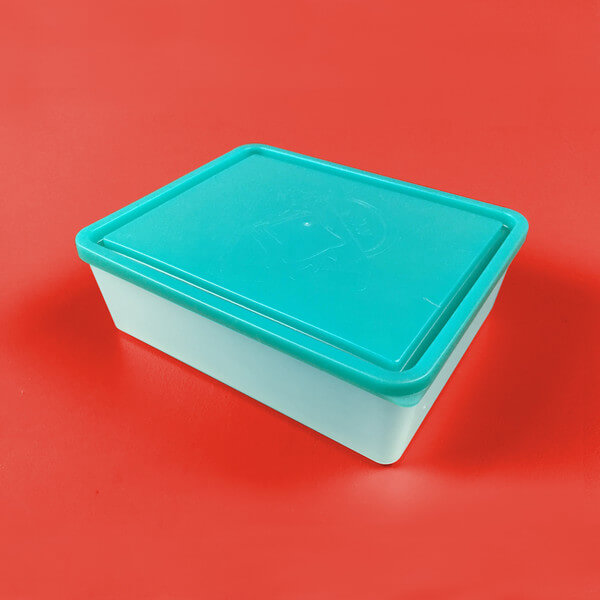Extra Large Lidded Container - Turquoise