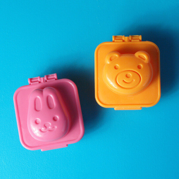 Bentology Egg + Rice Mold - Bunny & Bear