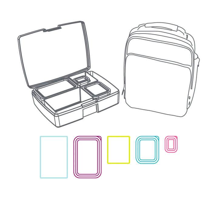 Bentology Bento Kits