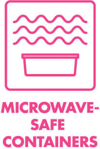 Bentology containers are microwave-safe