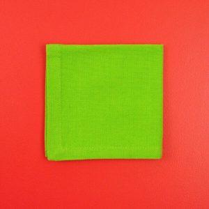 Bentology Organic Cotton Napkin - Lime