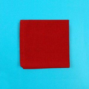 Bentology Organic Cotton Napkin - Red