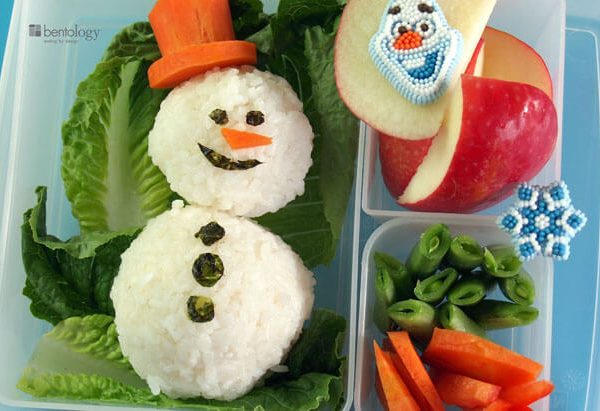 Winter Snowman Lunch