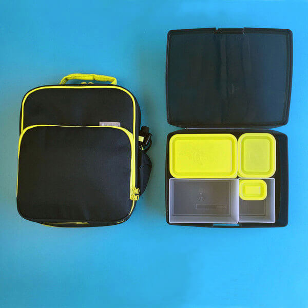 Bentology Bento Kit - Lunch Bag & Bento - Night