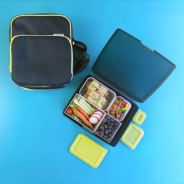 Bentology Bento Kit - Lunch Bag & Bento - Night