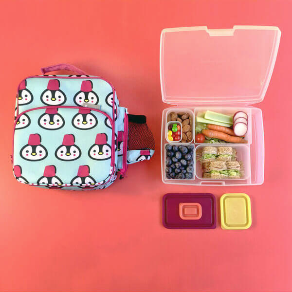 Bentology Bento Kit - Lunch Bag & Bento - Penguin
