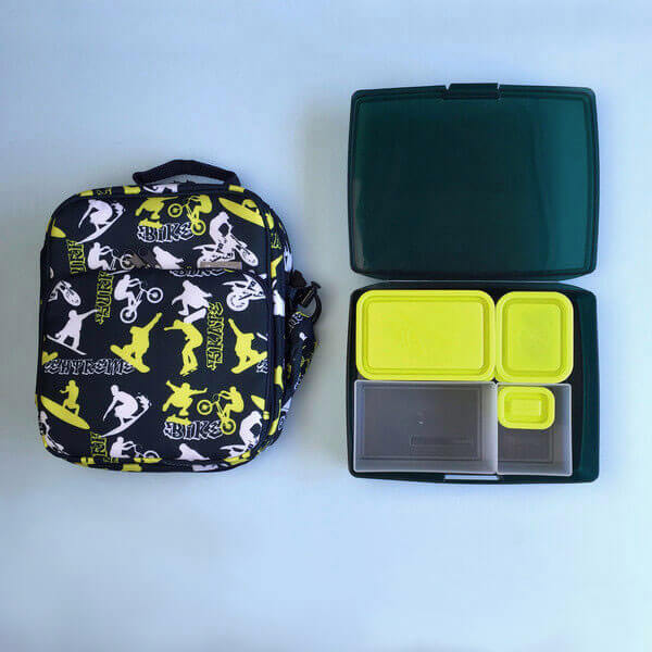 Bento Lunch Box Kit - Insulated Lunch Bag & Bento Kit - Shredder
