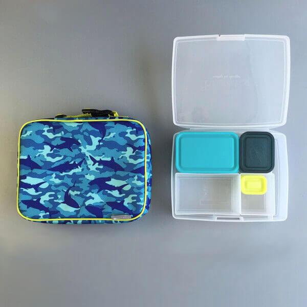 Bento Lunch Box Kit - Sleeve & Bento Box - Shark Camo