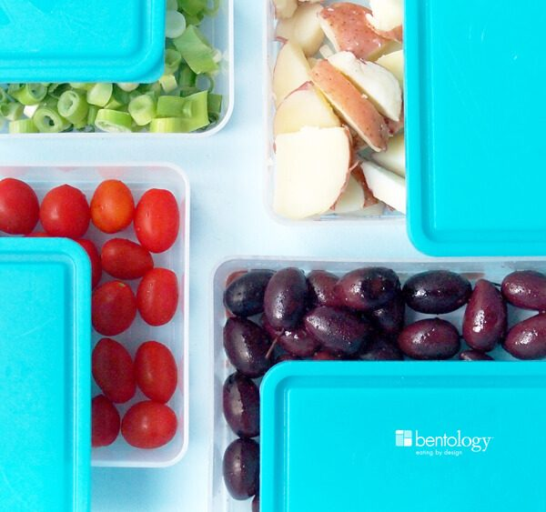 One of the many ways you can use your Portion Perfect Weight Loss System as a way to prepare and store your food, with our Prep N' Store extra set of lidded containers, even potlucks are a perfect breeze