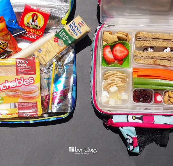 Kids Lunch, Go, No-Go, Make the time and effort, prepackaged foods for lunch are bad