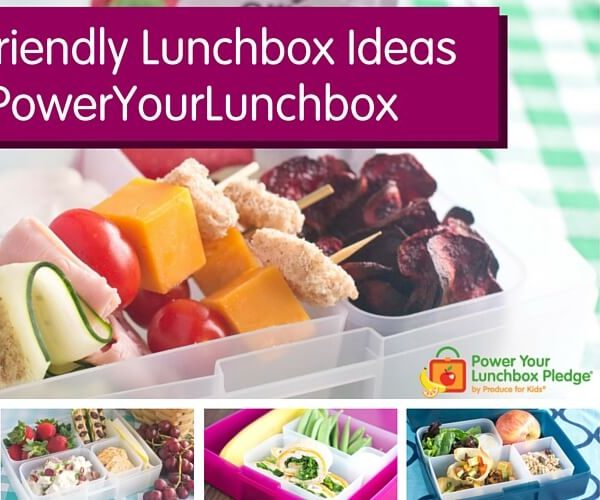 10 Kid-Friendly Lunchbox Ideas to PowerYourLunchbox from Bentology and Produce For Kids
