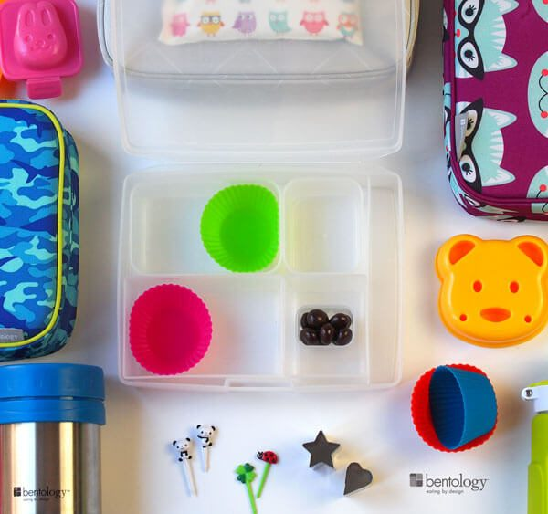 Tips and tools for lunch packing success with bento boxes, creativity tools, bags, cool packs for freezer and more