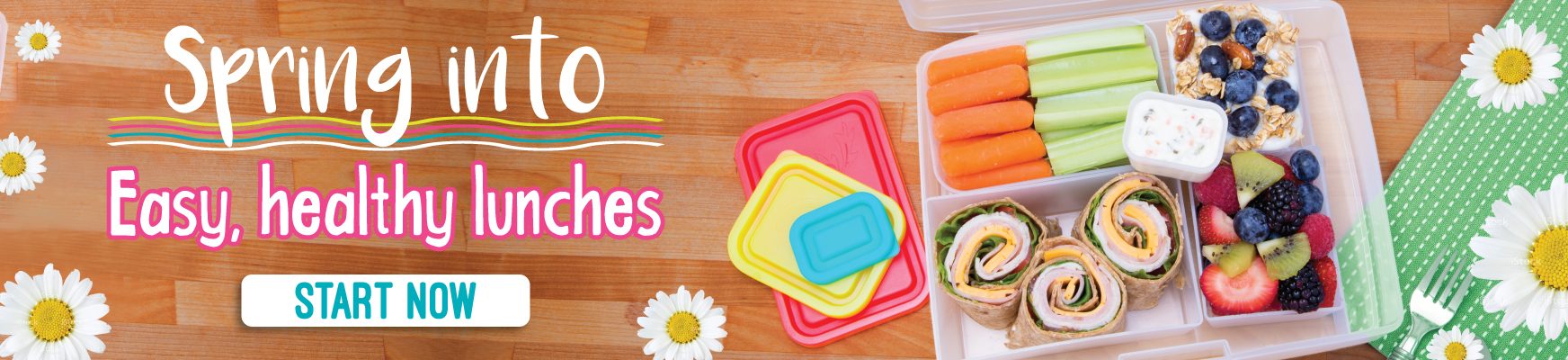 Spring into healthy and easy lunches with Bentology - Order today!