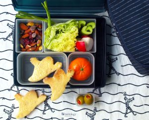 Use What You've Got, Little Cutters and Butters, To Make Amazing Halloween Simple Sandwiches for your Bento Box Lunches