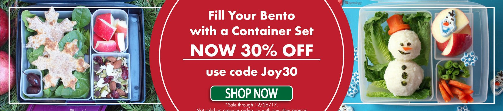 Lunch Box Container Sets are 30% OFF This Holiday Season!!!