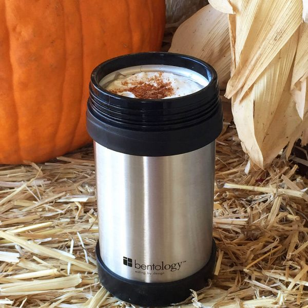 pumpkin spice latte with real squash and spices, pepper, milk, espresso, DIY so perfect you won't miss starbucks