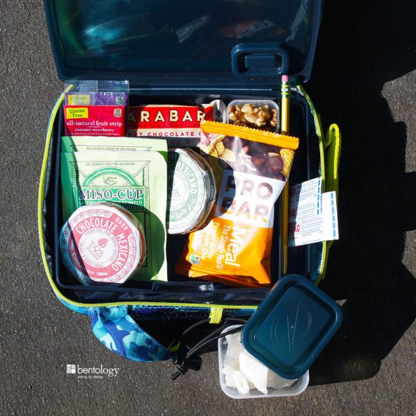 Teens, The Emergency Snack Bento Box Kit, also great for after school snacks