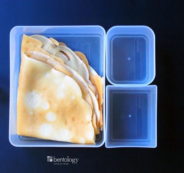 Easy, Make-Ahead Crepes for Bento Box Lunches All Week Long ready for a bento box lunch