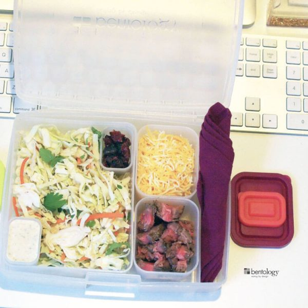 bento box easy lunch in perfect portions for weight loss and work lunches