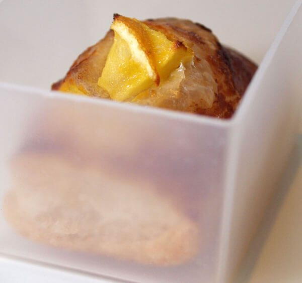 Puff Pastries with apple and lemon, quick, easy and delicious