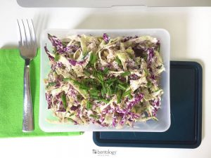 tuna and cabbage salad perfect bento box lunch and healthy