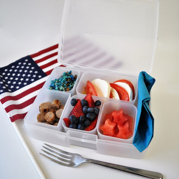 fourth of july bento box