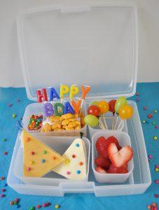birthday bento box