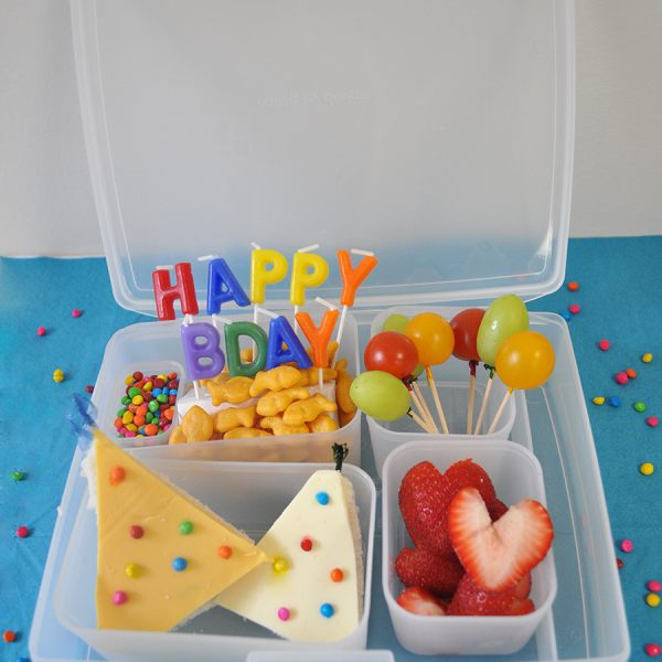 birthday bento box