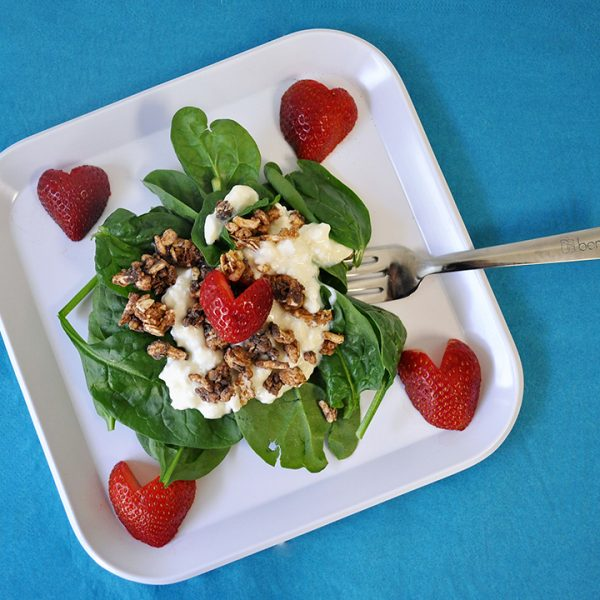 strawberry sundae salad