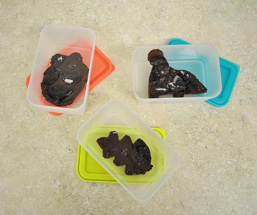healthy oreo brownies