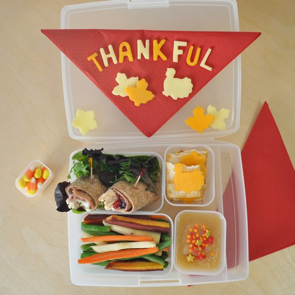 thanksgiving bento box