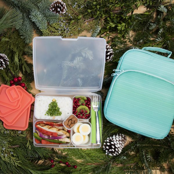 healthy holiday bento box