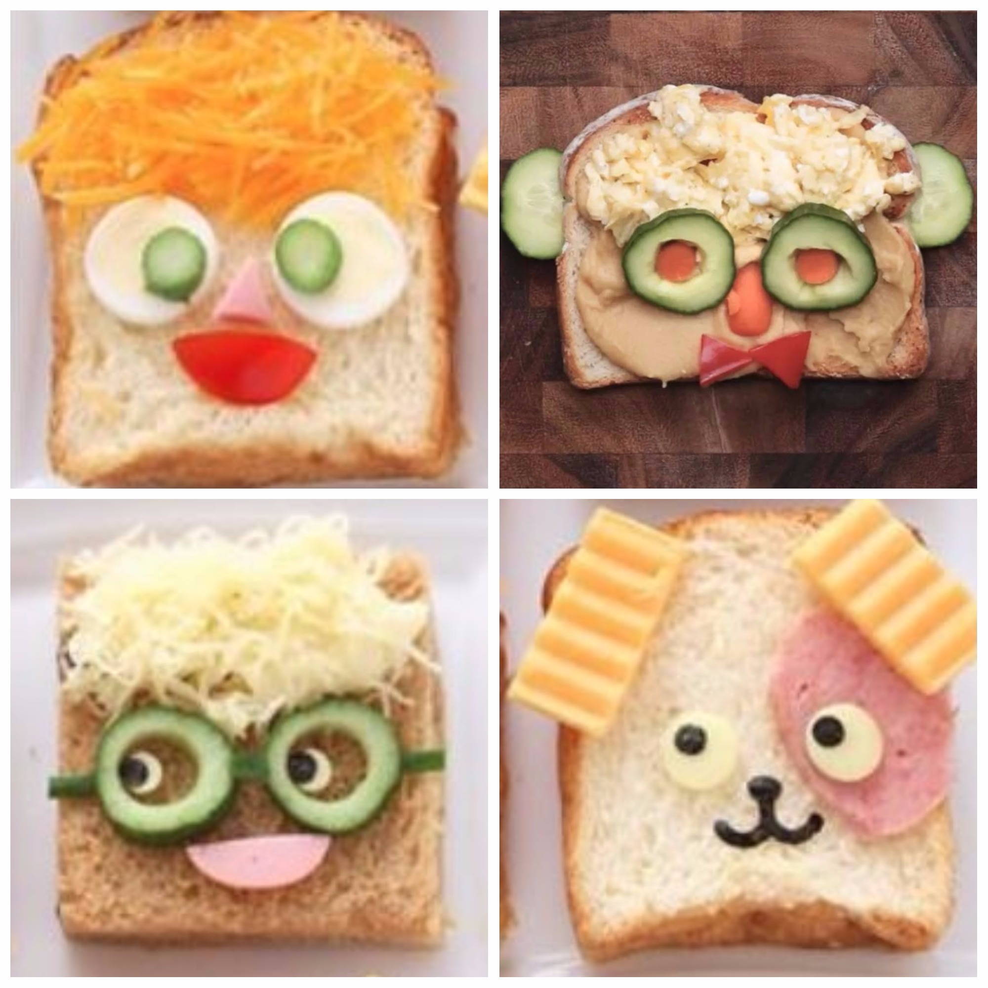 lunch faces