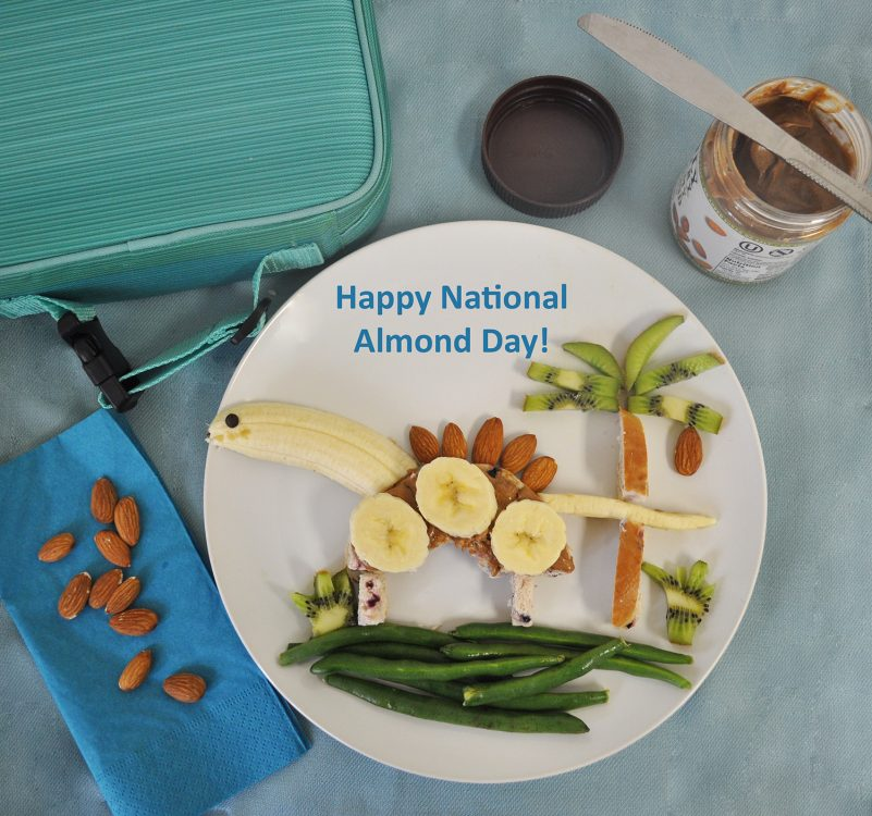 national almond day dinosaur lunch