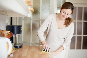 kitchen clean-up tips
